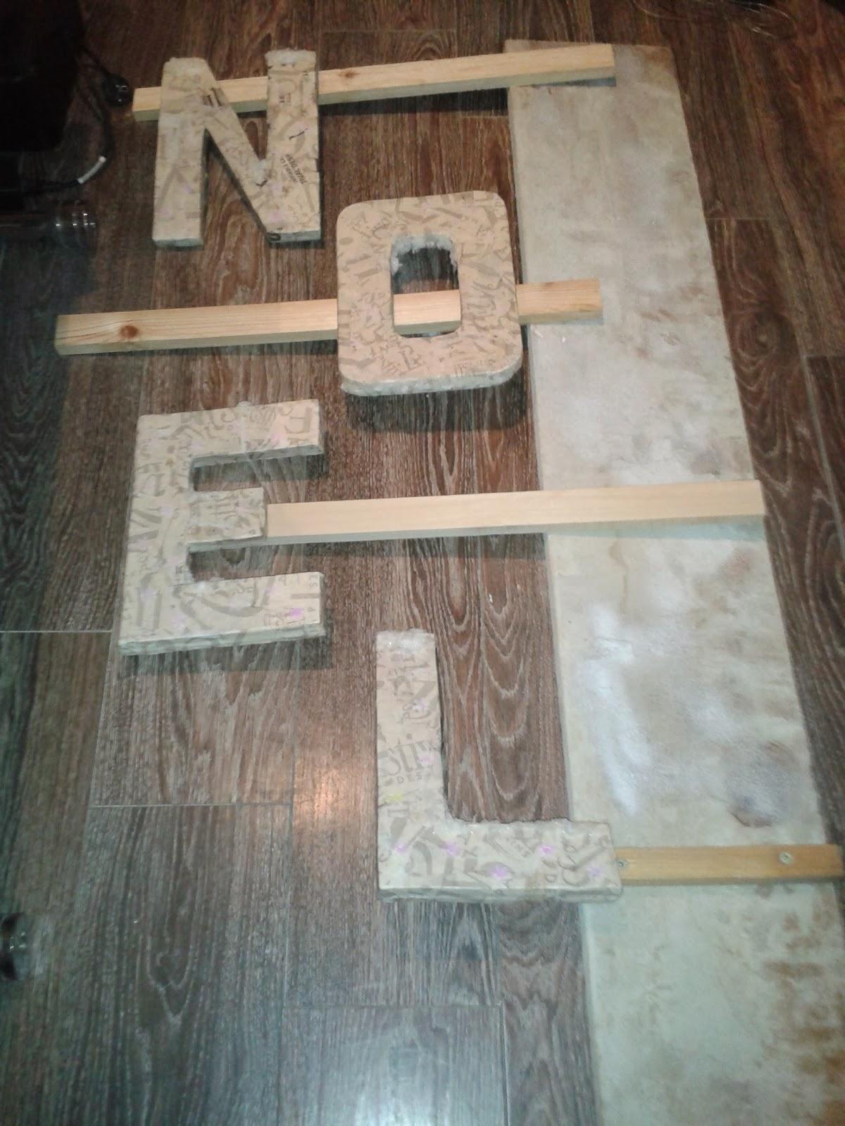 decoration de noel 2013 avec de la recup. Black Bedroom Furniture Sets. Home Design Ideas