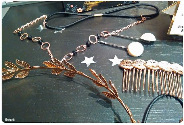 bijoux accessoires cheveux Monoprix Noël 2016