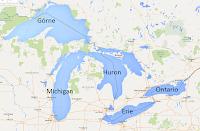 Wielkie Jeziora - Górne, Michigan, Ontario, Erie iHuron