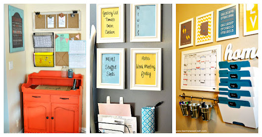 25 Command Centers To Totally Organize Your Family