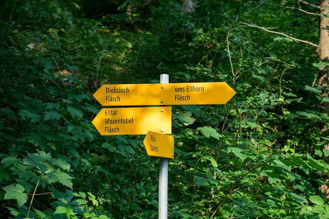 Rund ums Ellhorn  Wanderung Balzers  Fürstentum Liechtenstein 03
