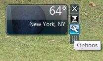 desktop Weather Gadgets for Windows 7, 8 and Vista