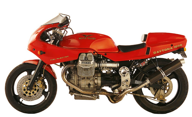 Moto Guzzi Daytona 1000 1990s Italian sports bike