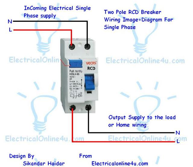 rcd wiring