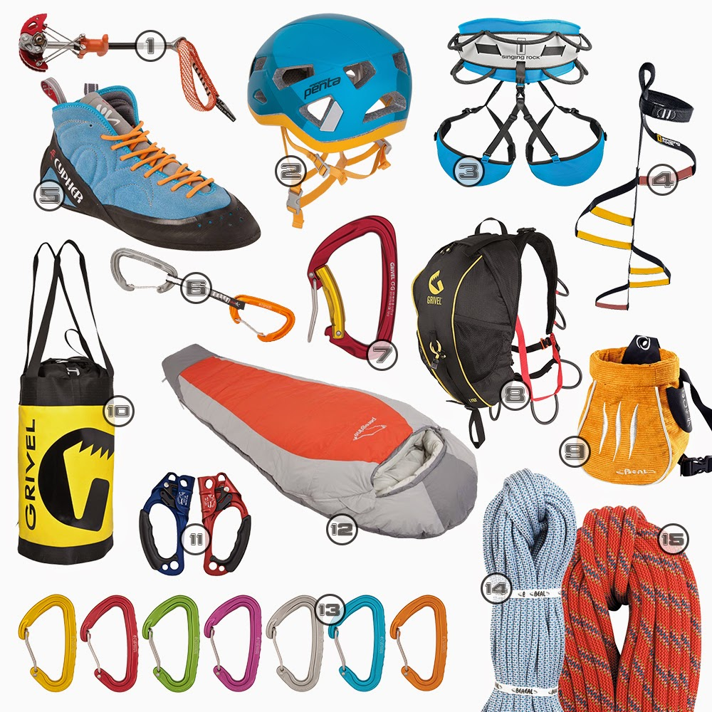 liberty mountain climbing the ideal big wall climbing kit