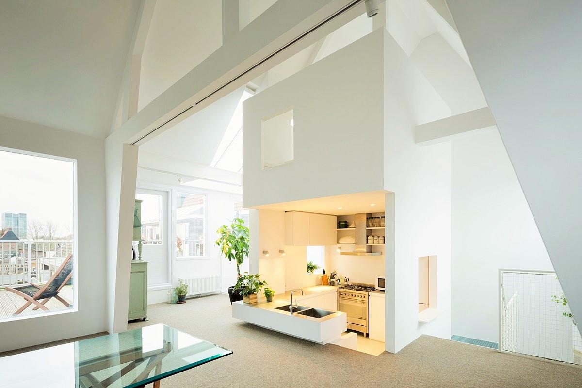Minimalist Small White Modern Kitchen   Art Home Design Ideas