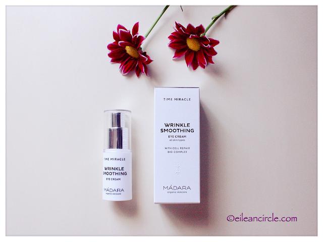Mádara Organic Skincare, cosmética natural, contorno de ojos