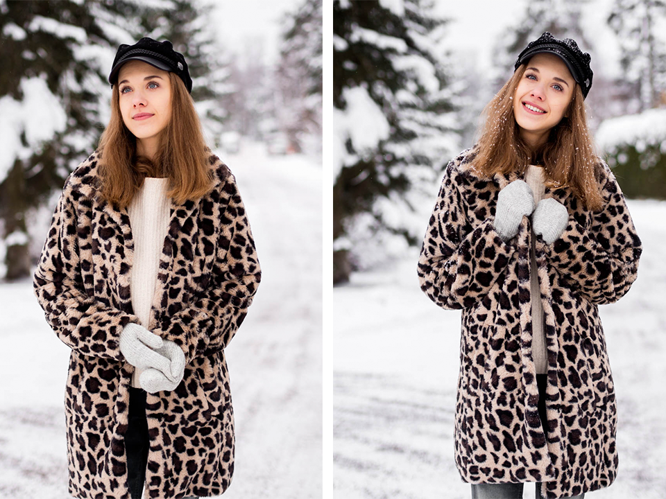 how-to-wear-leopard-faux-fur-coat-in-winter