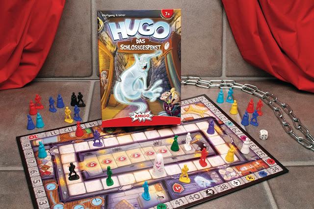 Familienspiel von Amigo - Hugo, das Schlossgespenst für Kinder ab 7 Jahre