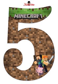 Abecedario De Minecraft Minecraft Alphabet Oh My Alfabetos