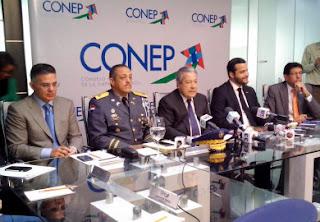CONEP afirma que los robos tienen a la ciudadanía en zozobra