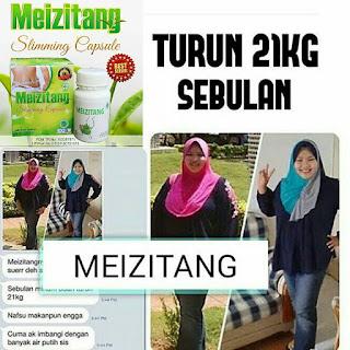 Meizitang Slimming Capsule BPOM