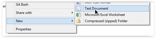 Create A New Text Doent In The Same Folder