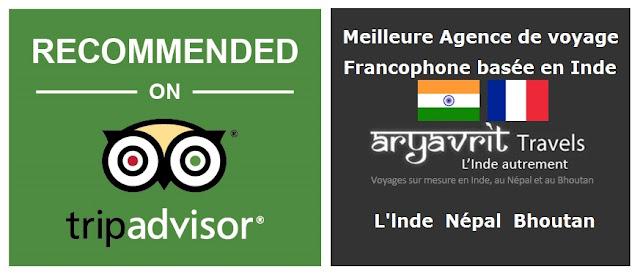 agence de voyage francophone basée en Inde