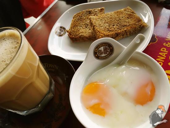 Bersarapan Old Town White Coffee RM88,888