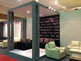 kontraktor pameran BOOTH CELLINI FURNITURE EXPO