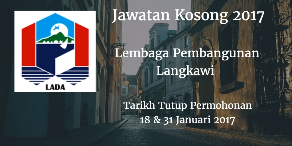 Jawatan Kosong LADA 18 & 31 Januari 2017