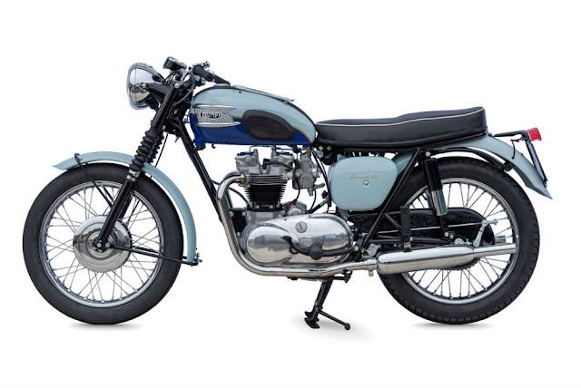 Triumph Bonneville T120 1960s British classic motorcycle