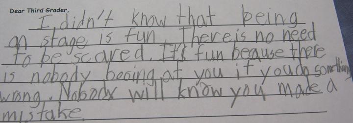 Hillside Elementary School Library: 3rd Graders Reflect on