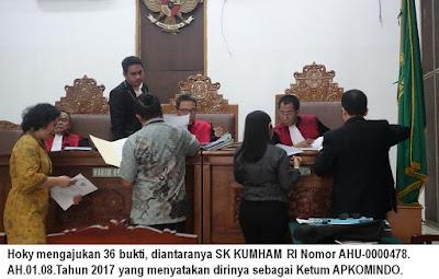 Gugatan Perkara APKOMINDO Muncul Lagi di Pengadilan