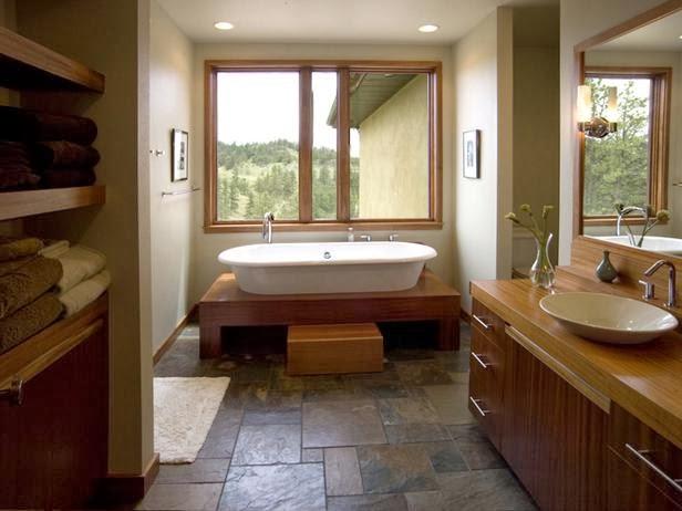 Macam Desain Tren Dan Style Lantai Kamar Mandi Desain Rumah