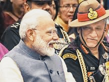 PM Modi congratulated the country's first CDS General Bipin Rawat