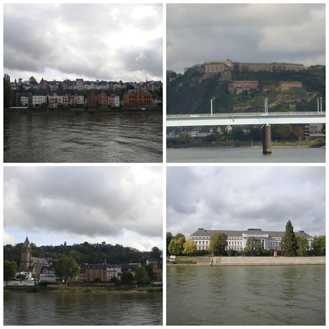 Koblenz vista do rio Reno