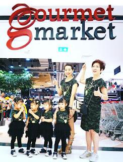ทีมแฝด4 พาช้อปปิ้งที่ Gourmet Market @เดอะมอลล์บางกะปิ
