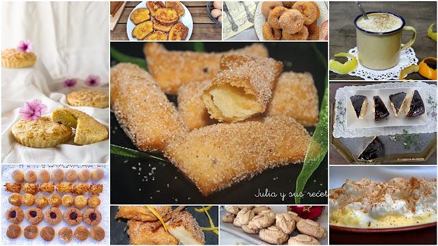 Postres tradicionales para degustar todo el año. Julia y sus recetas