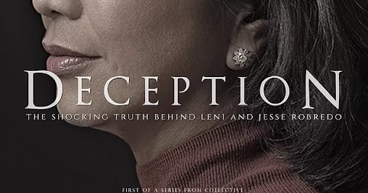 REPOST: Deception: The Shocking Truth behind Leni and Jesse Robredo Part 1