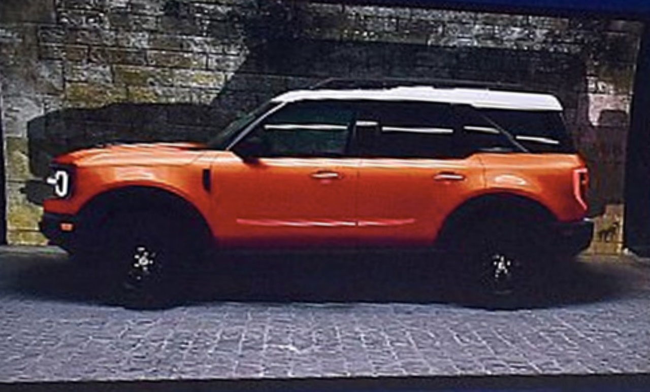 2020 Ford Bronco Leaked