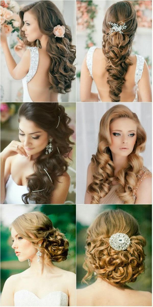 Gorgeous wedding hair style}