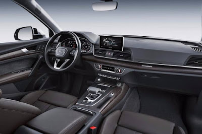 New Audi Q5 cabin space image