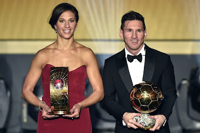 1f - Lionel Messi wins Ballon d'Or for fifth time - more pictures
