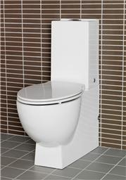 lättstädad toalett