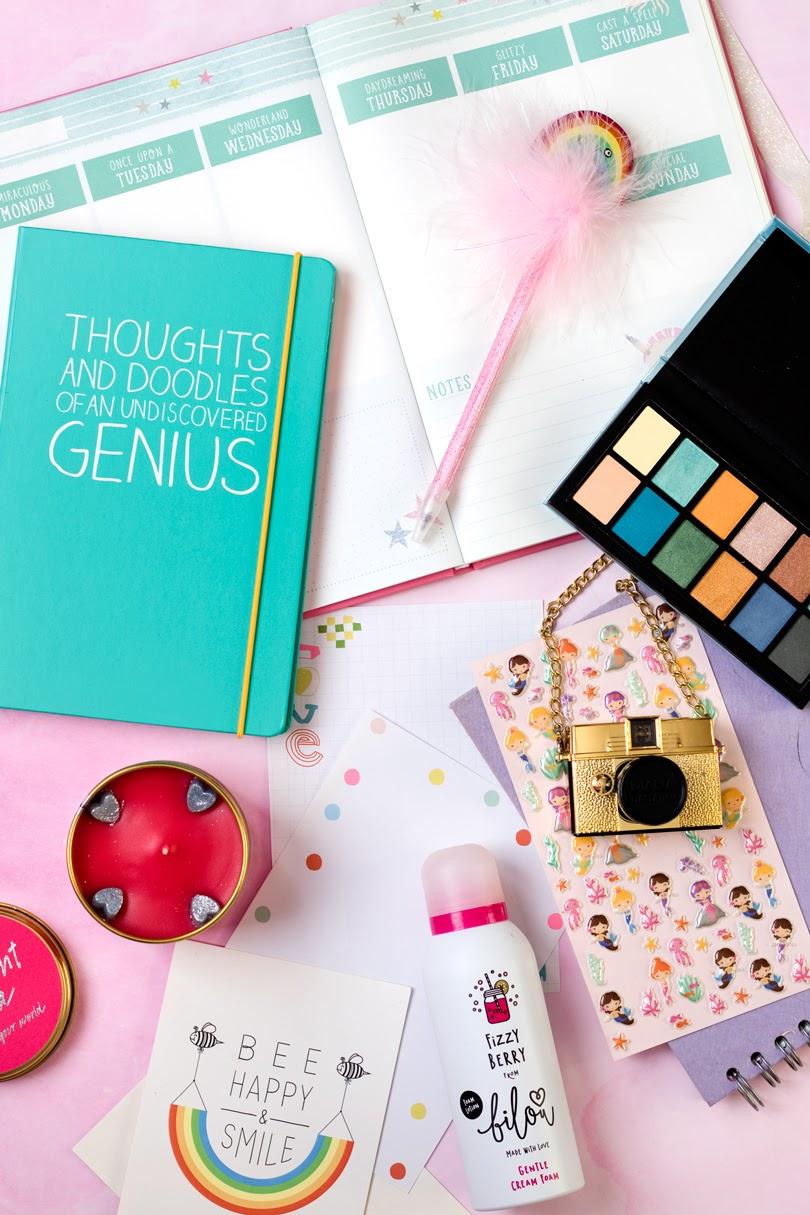 blogger lifestyle flatlay