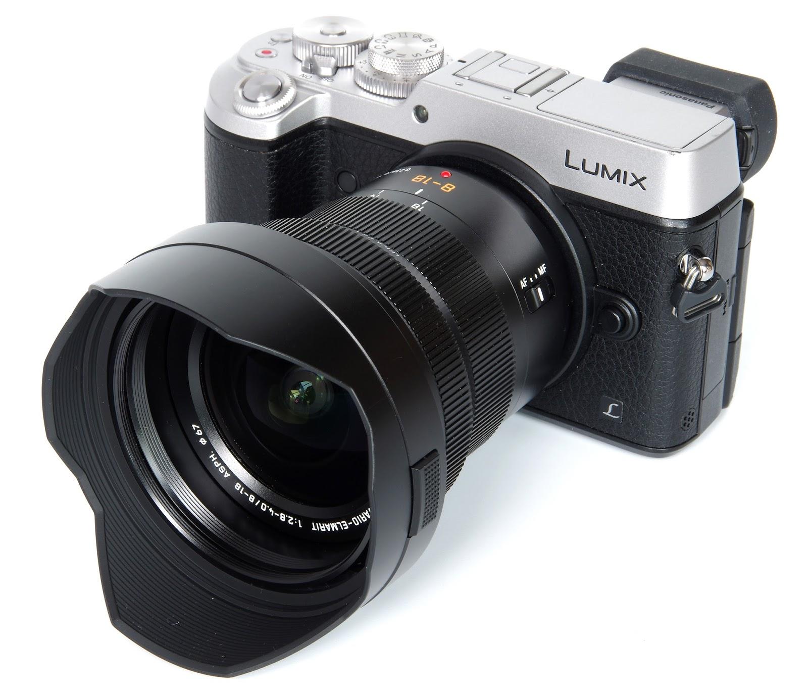 Panasonic Leica DG Vario-Elmarit 8-18mm f/2.8-4 Asph. с камерой Pansonic Lumix GX8