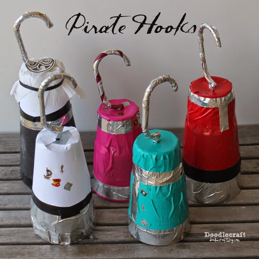 Doodlecraft pirate hooks for S hooks for crafts