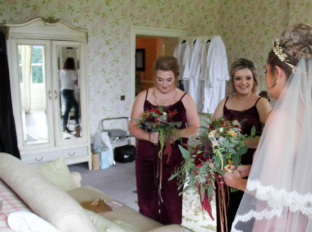 Each Of The Bouquets Were Quite Unique And Our Gorgeous Bride Katie Had Most Beautiful One