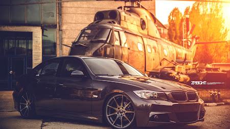 Hot Car with Cool Wheels: BMW E90 HD