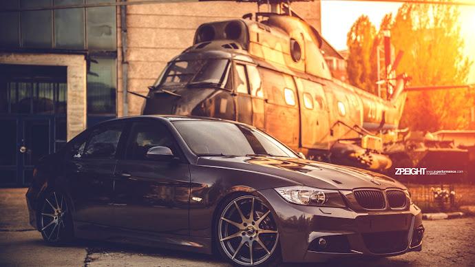Wallpaper: Hot Car Automotive Tuning BMW E90