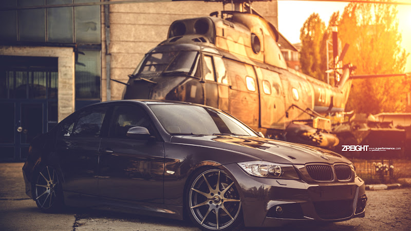 Hot Car with Cool Wheels: BMW E90 HD