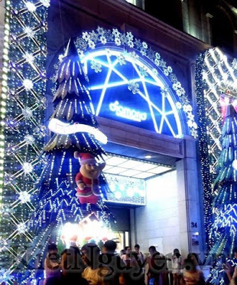 Giáng Sinh tại Trung tâm thương mại Diamond Plaza mùa Giáng Sinh