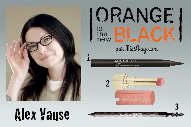 Inspiration maquillage : Orange is the New Black Alex Vause