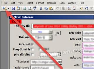 Phần mềm Quản lý Phim Upload