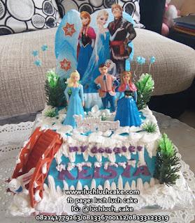 Birthday Cake Frozen Fever Murah dan Cantik