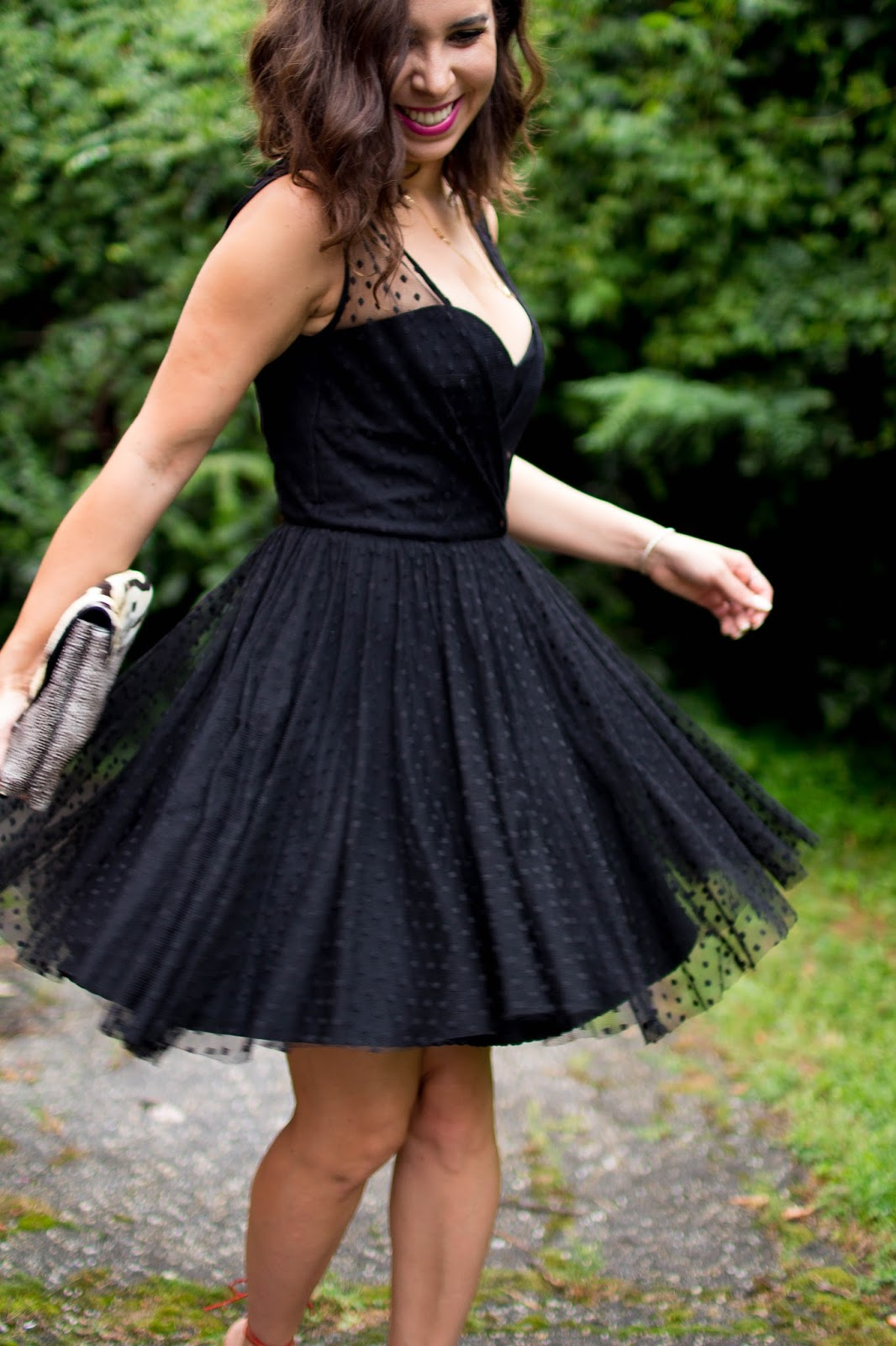 How to wear black to a summer wedding. | A.Viza Style | milly rent the runway dress - wedding guest outfit - dc blogger
