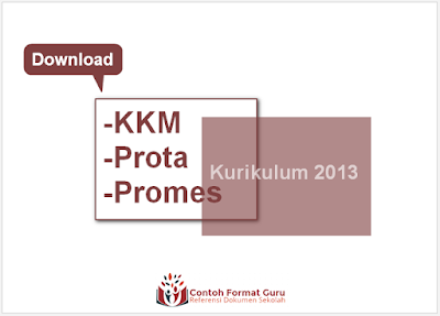 Download KKM Prota Promes SD Kelas 4 Kurikulum 2013 Edisi Revisi