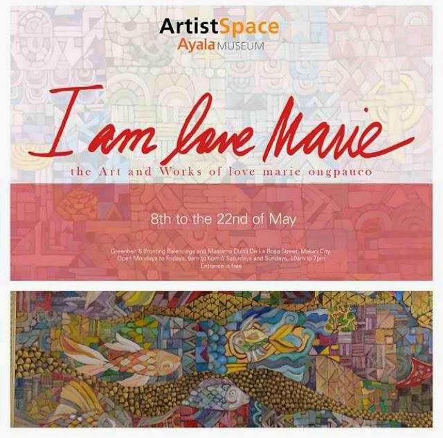 Heart Evangelista is I AM LOVE MARIE - Art Exhibit in Ayala Museum