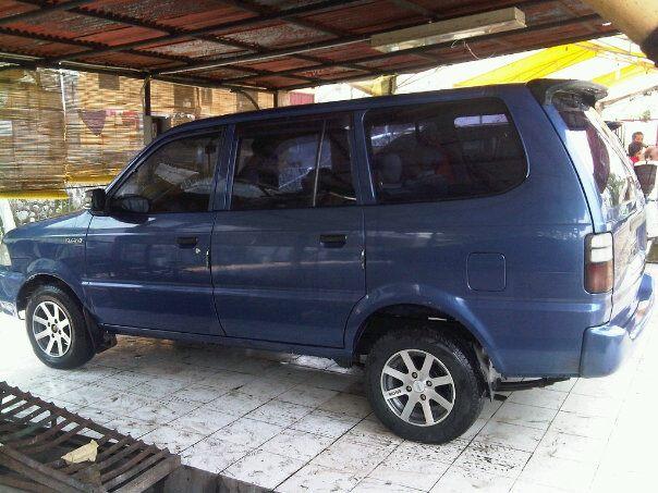 jual mobil kijang kapsul Diesel thn 2000 LSX Eze solution